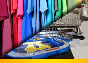 Berufsbekleidung Textildruck Stickerei