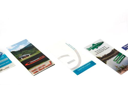 Gestaltung und Lieferung Ihrer Flyer und Folder