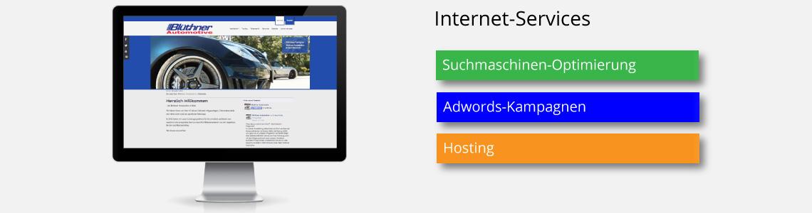 mehr Service für Ihre Website