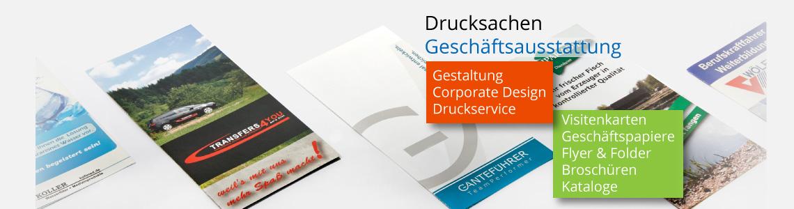 Flyer und Folder für Ihre Werbung