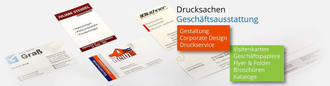 zeitgemäße und professionelle Visitenkarten